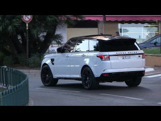 2016 Range Rover Sport SVR | The ULTIMATE 550HP Golddigger Car in Monaco