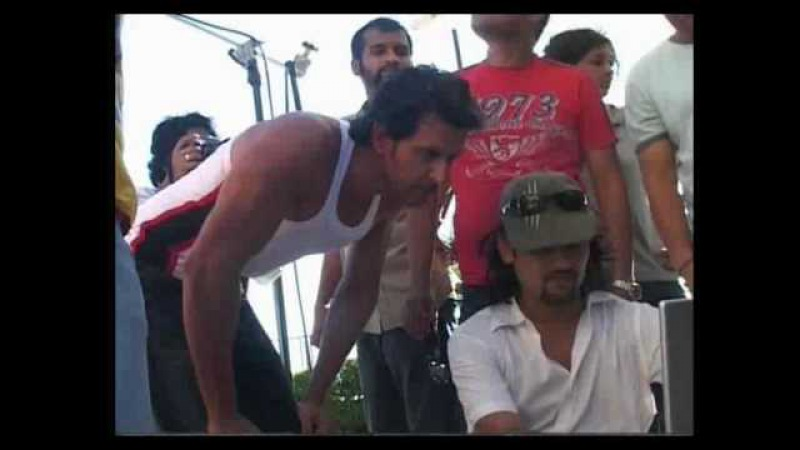 Hrithik Making of Macroman Ad