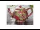 Ceramic Teapot Tutorial Decoupage Punch Studio Napkins