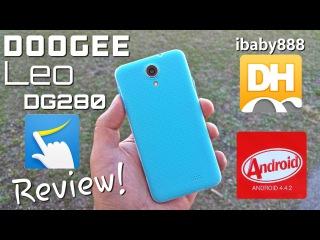 Doogee Leo DG280 - [Review] - Kitkat  - 4.5 FWPGA IPS - Gestures - Dual Sim - MTK6582