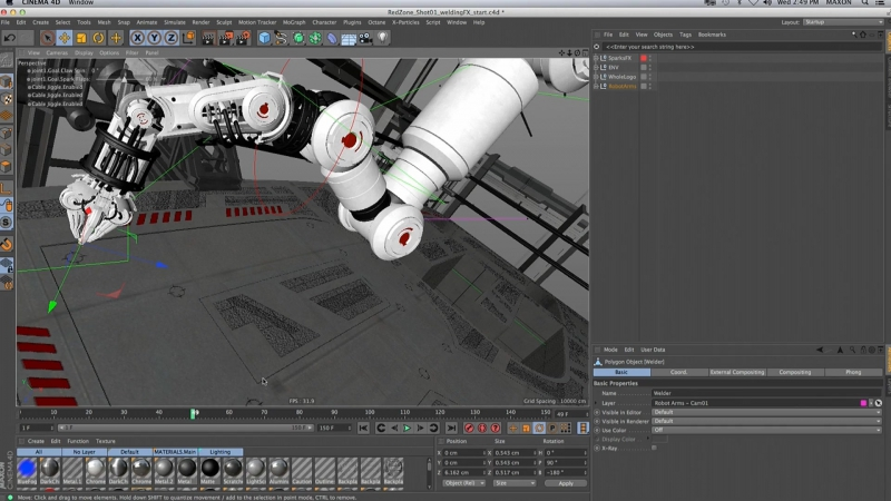 Kevin Aguirre - In the Zone with Cinema 4Ds MoGraph Tools