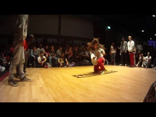 Jungle man & Juice(UK) vs Portugal  (EUROBATTLE 2012) Hip-Hop Qualification