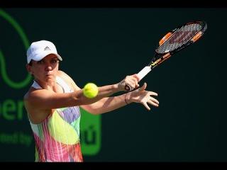 2016 Miami Open Third Round   Симона Халеп vs Джулия Джорджес   WTA Highlights