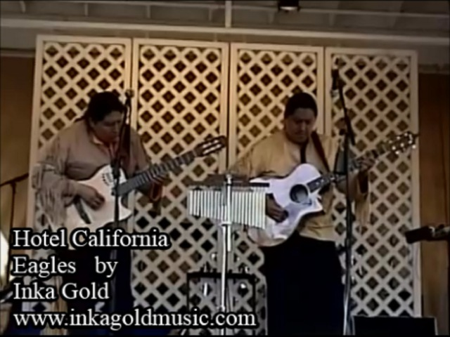 HOTEL CALIFORNIA - EAGLES Pan flute version by INKA GOLD