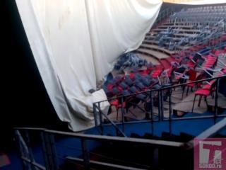 Шок: неизвестные разгромили тольяттинский цирк