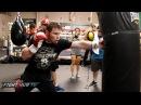 Canelo vs. Smith Video- Canelo Alvarez's COMPLETE boxing workout video