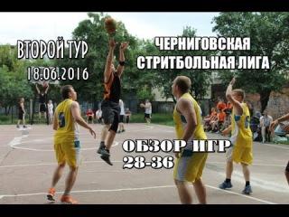 ЧСЛ-2016. 2 тур. Обзор игр 28-36