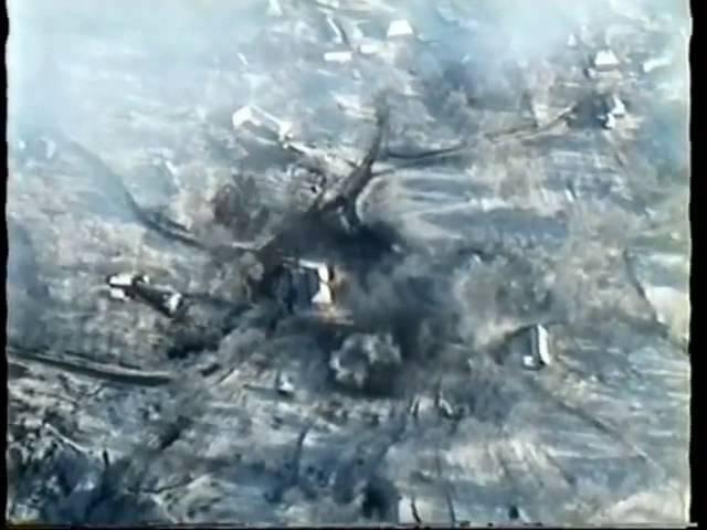 Боевое применение штурмовика Су 25 в чеченских войнах зима весна