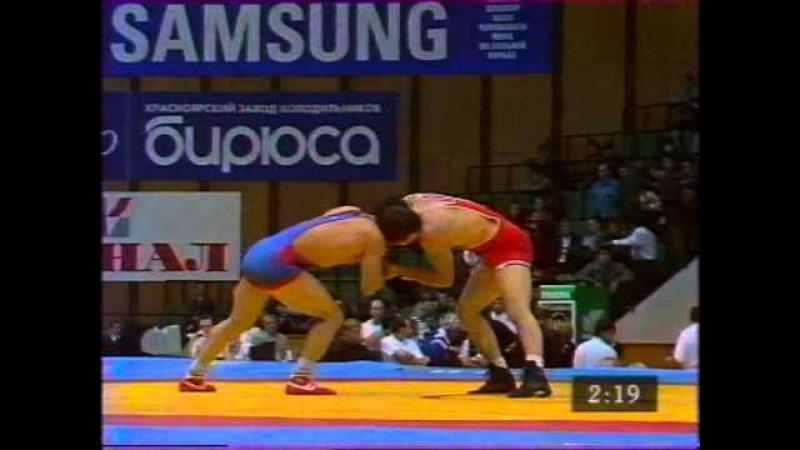 Ghanbari,Davoud (IRI) - Kupeev,Igor (UZB) 69 kg. 1997 Chempionat Mira