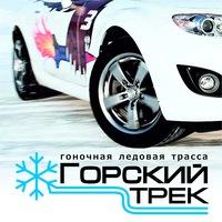 """Логотип Ледовая трасса """"Горский трек"""""""