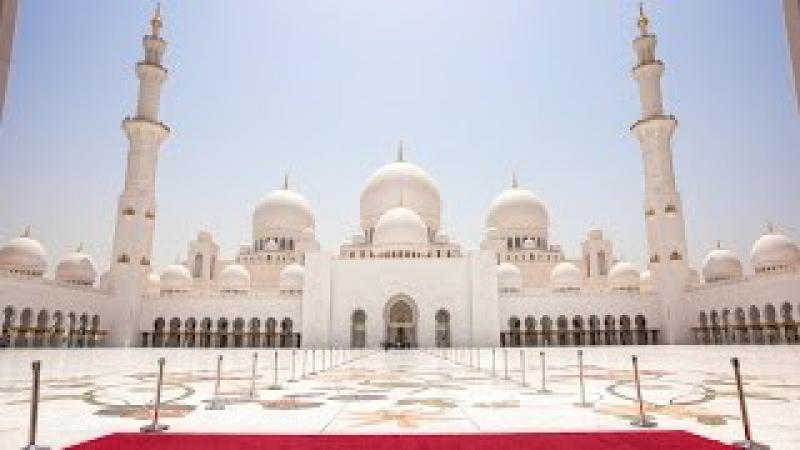 Суперсооружения Великая Мечеть Абу Даби National Geographic