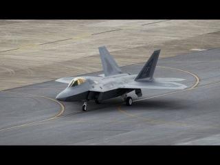 F-22 Raptor multi-purpose fighter of the fifth generation F-22猛禽战斗机多种目的的战斗的第五代