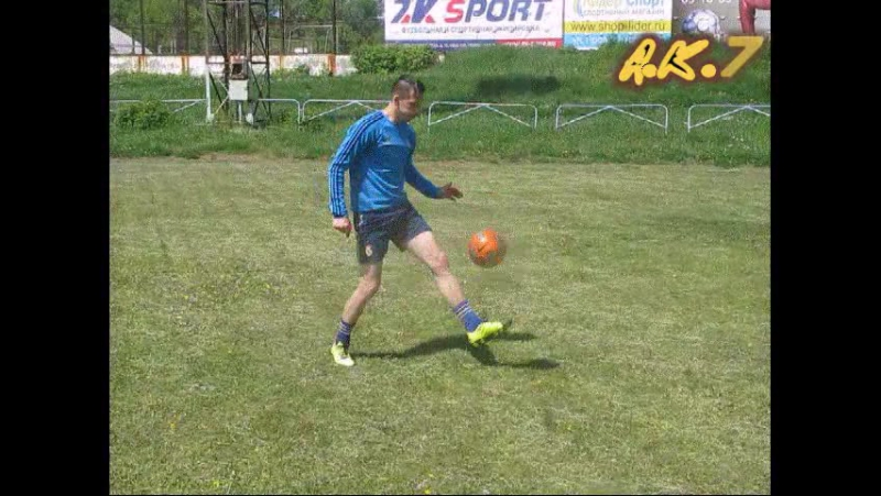 Aleksandr Koskin 7-Warm Up Freestyle 2016✌⚽7⃣