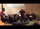 Оркест в/ч №3024 играет мелодию из к/ф Рокки
