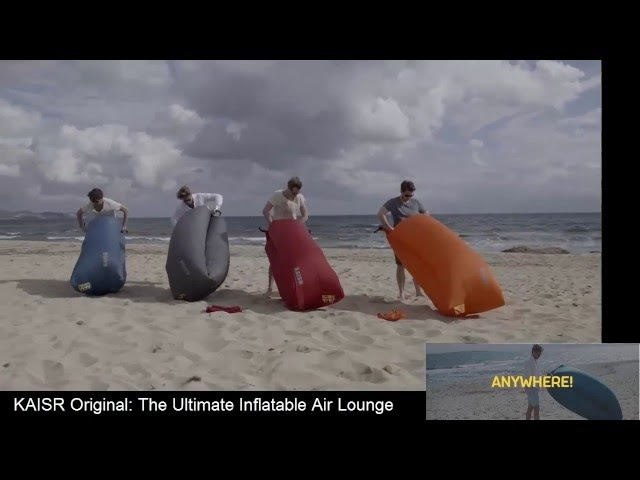 KAISR Original - The Ultimate Inflatable Air Lounge