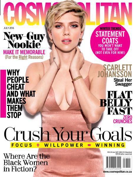 Cosmopolitan - South Africa - July 2016