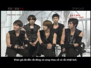 {TVfXQVN's Vietsub} 20090323 MUSIC EDGE - Talk Survivor