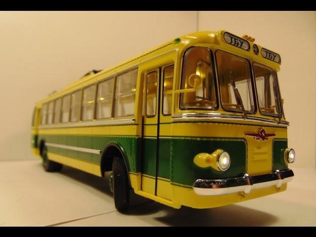 Троллейбус ТБУ-1 Ultra Models Электрификация масштабных моделей проект: Динамика 52