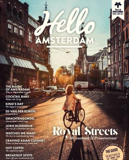 Hello Amsterdam March April 2017