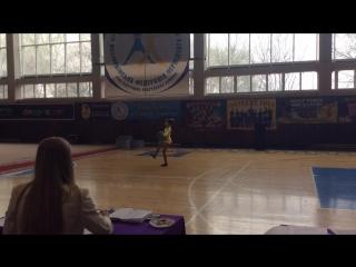 Чемпионат Украины чер данс фристайл соло Качура Анастасия