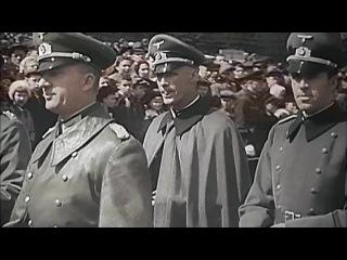 Парад 1 мая 1941 в Москве в присутствии членов НСДАП