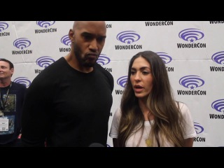 WonderCon 2017: Henry Simmons and Natalia Cordova-Buckley on AGENTS OF . S4