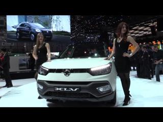 SsangYong XLV at 2016 Geneva Motor Show - AutoMotoTV