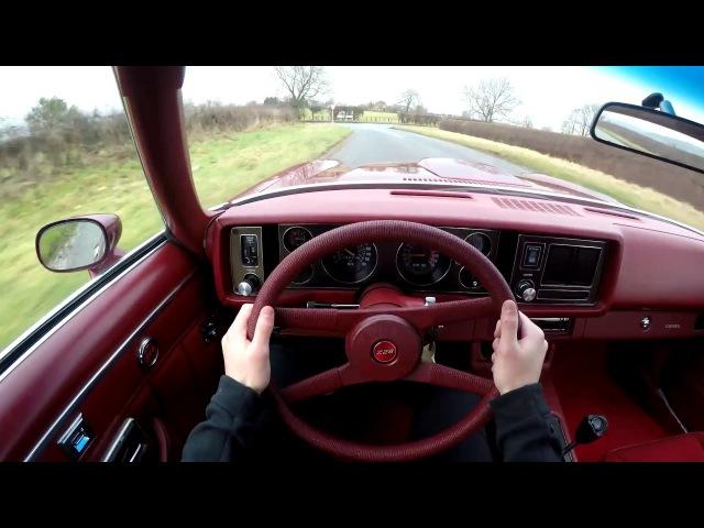 1979 Chevrolet Camaro Z28 350 V8 - POV TEST DRIVE
