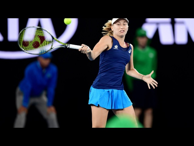 Daria Gavrilova vs Timea Bacsinszky Highlights ᴴᴰ 2017