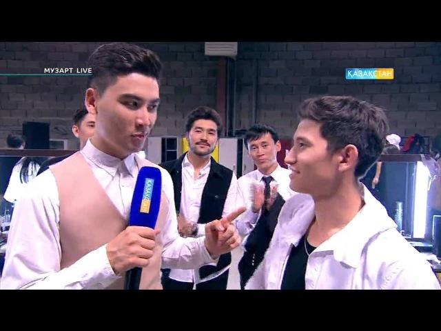 Әділет Әділбаев Жалындаған махаббат MuzART live МузАРТ лайв 2016