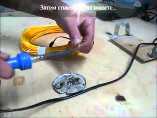 Как подключить гибкий холодный неон