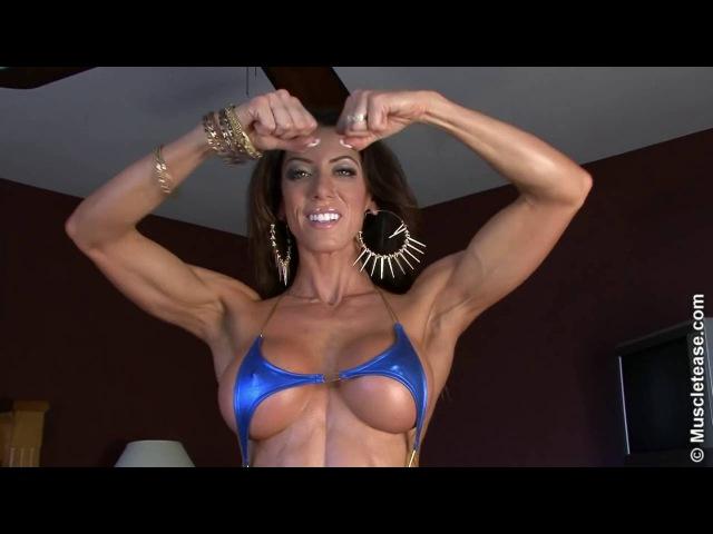 Julie Bonnett Blue Bikini Mega Hot Sensual Body!