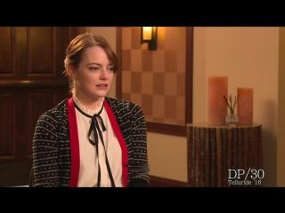 Emma Stone about La La Land