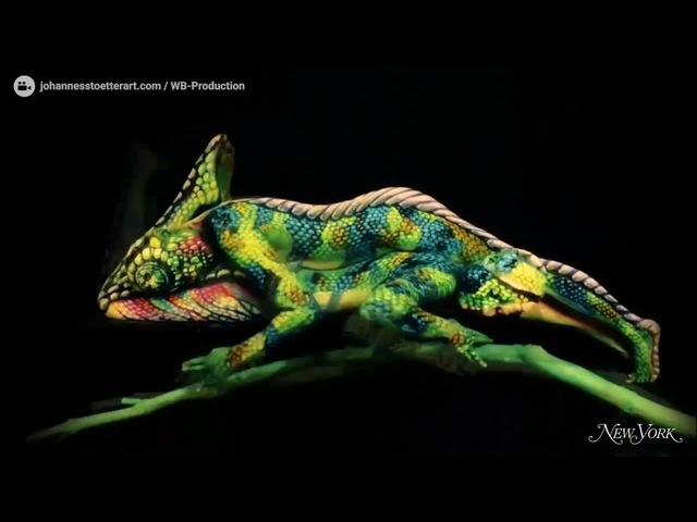 Art of bodypainting