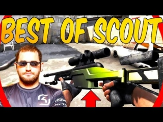 WHEN PRO PLAYERS USE SCOUT! INSANE SHOTS #CSGO