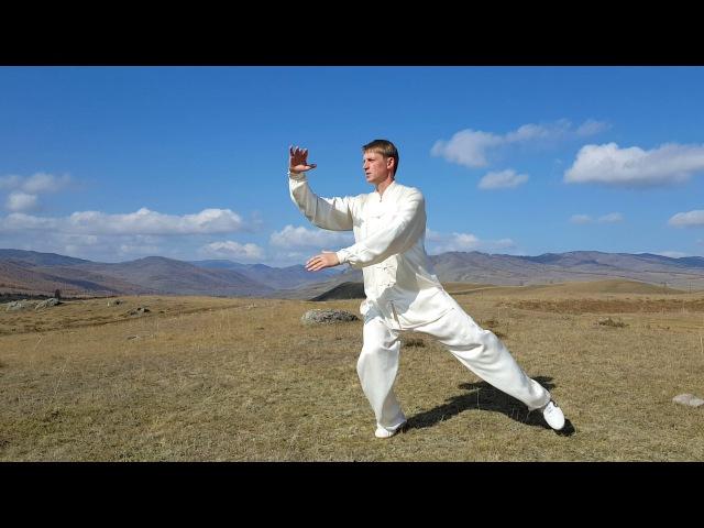 Ян тайцзицюань Юньшоу как скоординировать руки и ноги