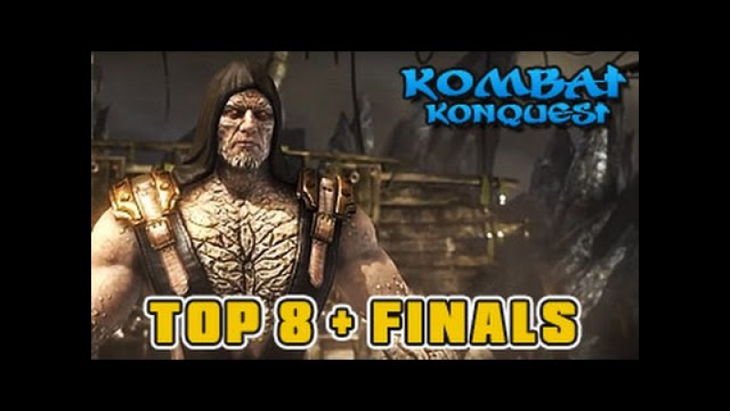 MKX Tournament S01W08 TOP 8 Finals Destroyer iLuusions Revetleafing SylverRye more