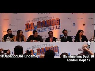 Dabangg Tour UK Press Conference in London | FULL video