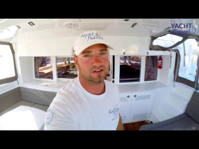 Lagoon 450 (Лагун 450). Обзор катамарана от Yacht Travel.