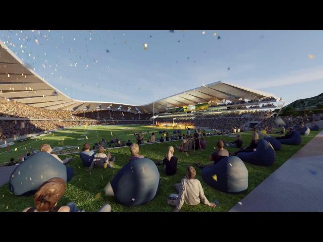 Проект нового стадиона в австралийском Таунсвилле