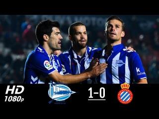 Alaves vs Espanyol 1-0 - All Goals & Highlights - La Liga 04/11/2017 HD