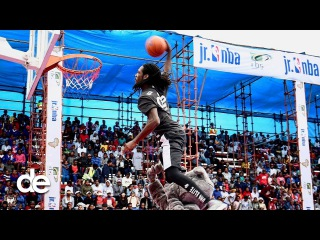 NBA x Dunk Elite = DOPE dunks in Africa | (Vlog)
