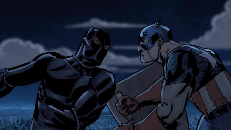 Рыцари Marvel Чёрная Пантера эпизод 1 2010 Marvel Knights Animation Black Panther