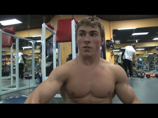 Teen bodybuilder garrett bateman 1
