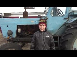 Трактор МТЗ 50 Беларусь.