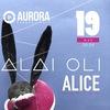 19.05 ALAI OLI — AURORA Concert Hall (СПб)