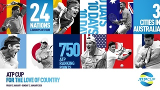 ATP Cup 2020 Launch Rule the World