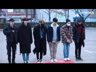 [RAW|VK][] MONSTA X arrive at Music Bank @ Thewebdaily