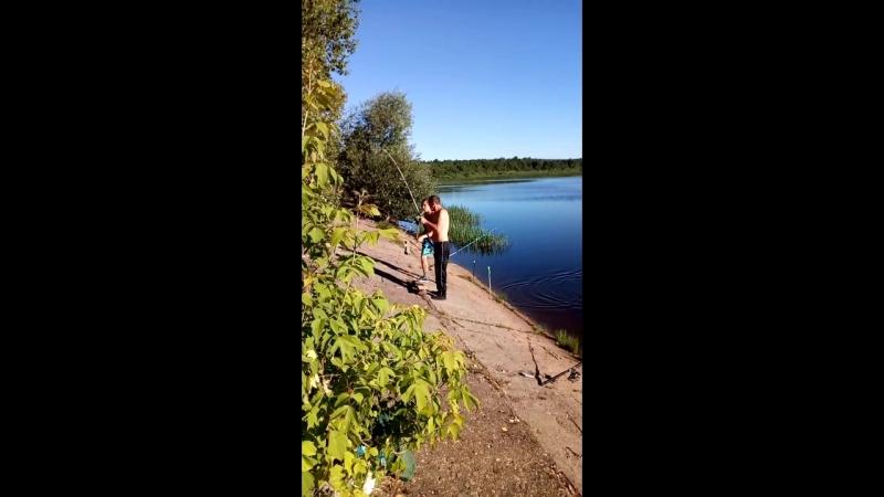рыбалка на Каме 2018 лето