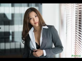 Uncensored! Emiri Momota (aka Miri Mizuki). The Job Of A Secretary